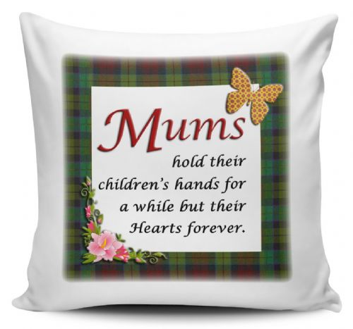 Mums Hold Their Childrens Hands Cushion Cover
